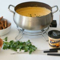Two Ingredient Kaukauna® Cheese Fondue