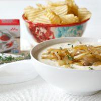 Mayo-Free Caramelized Onion Dip