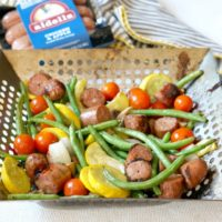 Grilled Sausage and Veggie Toss