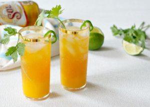 Spicy Mango Shandy