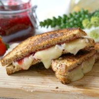 Fancy Pants Grilled Cheese