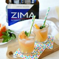 Sparkling Zima® Paloma Cocktail