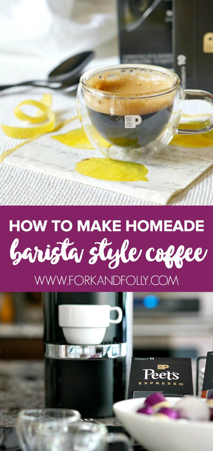 Just say no to bad coffee.  Instead make barista style coffee at home with the right tools and ingredients.