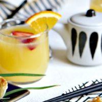 Orange & Berry Sake Sangria