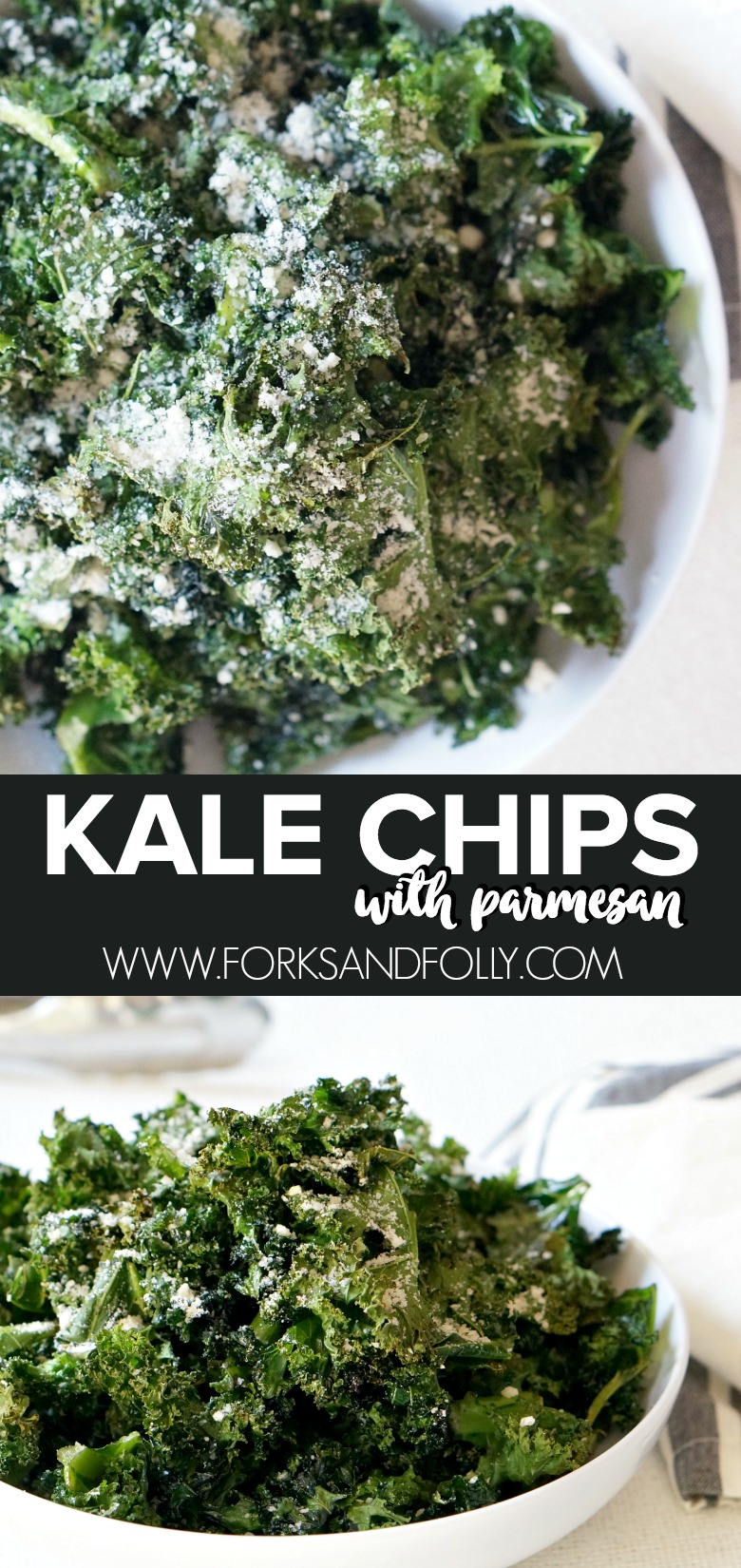 If Popeye had known about kale, I'm pretty sure he'd have swapped out his cans of spinach for these tasty, roasted kale chips with Parmesan.