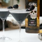 Midnight Margarita, a Black Halloween Cocktail