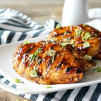 Marinated & Glazed Hoisin Grilled Chicken