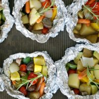 Easy Grilled Veggie Foil Packets