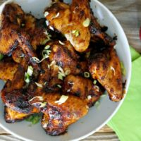 Rum & Coke Chicken Wings