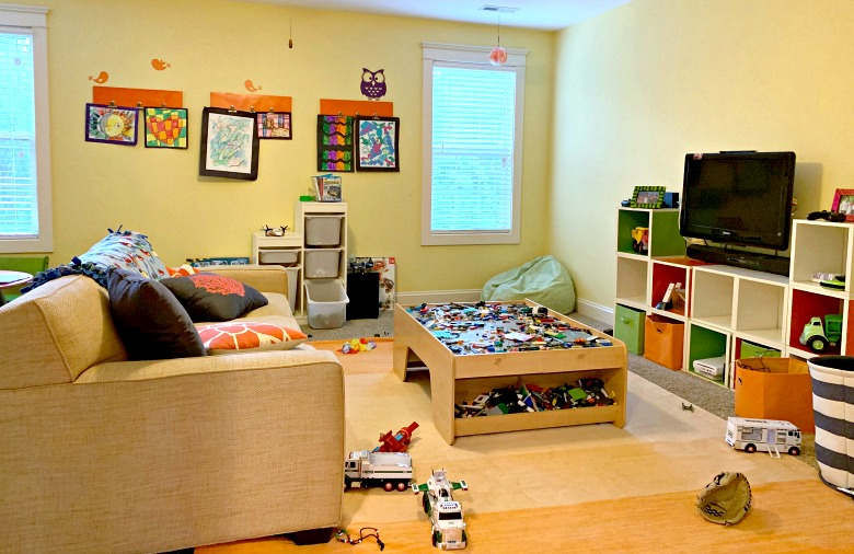Grownup Playroom Makeover