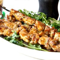 Glazed Chicken Skewers