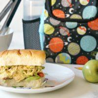 Lunchbox Pom Pom Chicken Salad Sandwich