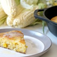 Lightened Skillet Corn Bread