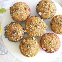 Nutty Banana Bread Muffins for Quarantine Days