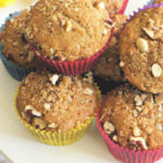 Nutty Banana Bread Muffins for Quarantine Days… and Beyond