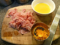 Tagliatelle with Proscuitto and Orange, www.MomFavorites.com