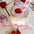 Skinny Chocolate Raspberry Smoothie Recipe